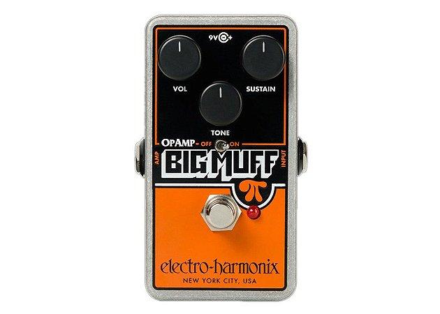 Pedal Electro Harmonix Op Amp Big Muff Distortion Sustainer
