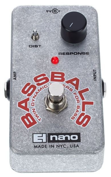 Pedal Ehx Bassballs Twin Dynamic Envelope Filter