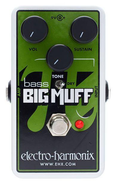 Pedal Ehx Nano Bass Big Muff Distortion - Electro Harmonix