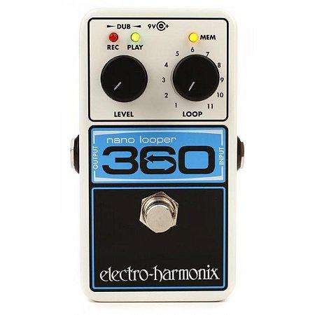 Pedal Looper Electro Harmonix 360 Nano Looper Nyc Usa