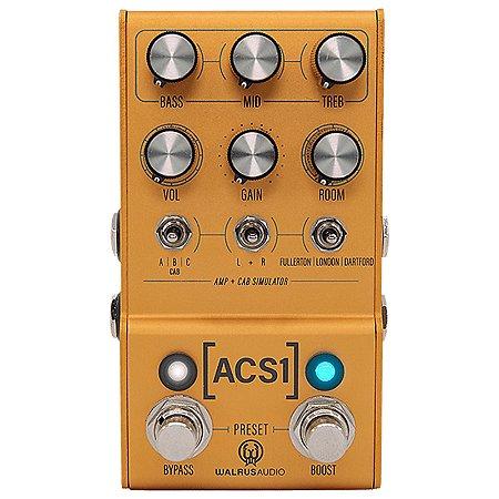Pedal ACS1 Walrus Audio Mako Series Amp & Cab Simulator