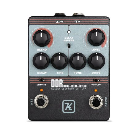 Pedal Keeley Ddr Drive Delay Reverb Pedal - Eric Johnson