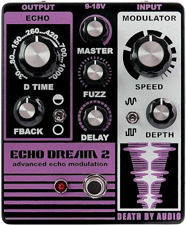 Pedal Echo Dream 2 Death By Audio Delay Fuzz Modulation