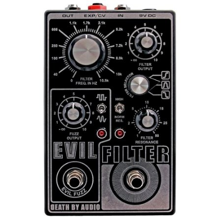 Pedal Evil Filter Fuzz Filter Death By Audio