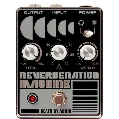Pedal Reverberation Machine Death By Audio Reverb