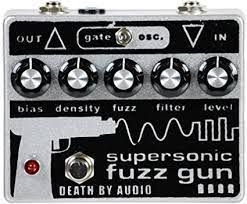 Pedal Supersonic Fuzz Gun Death By Audio Distortion