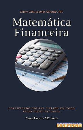 Matemática Financeira - Carga horária 522 horas