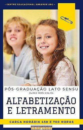 Alfabetização e Letramento - 450 / 780 horas