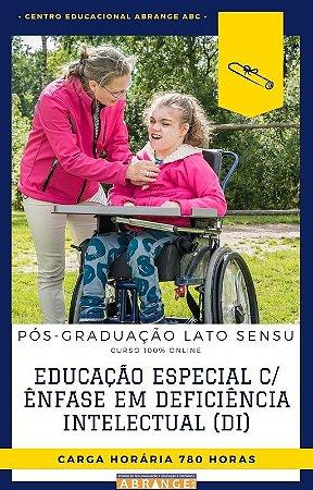Educação Especial com Ênfase em Deficiência Intelectual (DI) - 780 horas