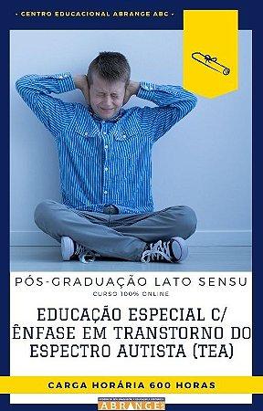Educação Especial com Ênfase em Transtorno do Espectro Autista (TEA) - 600 horas