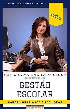 Gestão Escolar - 450 / 780 horas