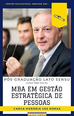 MBA em Gestão Estratégica de Pessoas - 450 horas