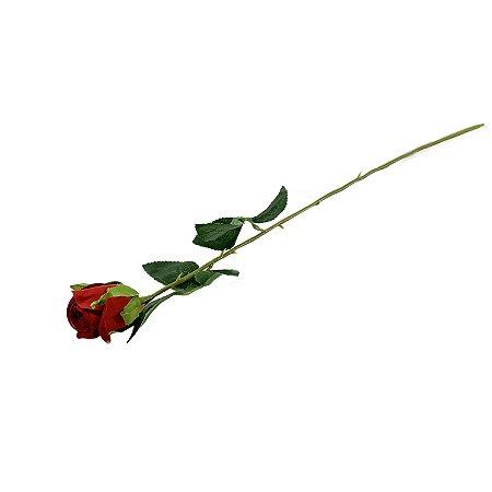 Galho Botão de Rosa Lily