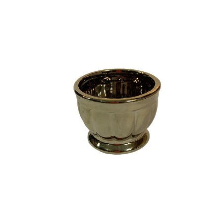 Vaso Ceramica Metalizado LV-0003