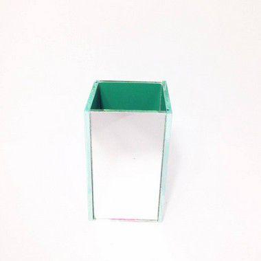 Vaso Quadrado Espelhado P