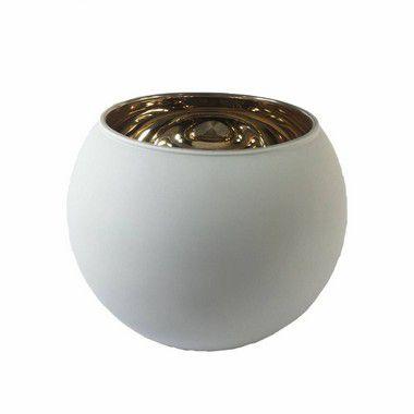 Vaso Aquario Pequeno Branco VF-0001BR