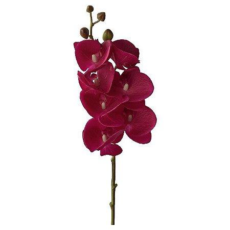 Galho de Orquídea Siliconada Fran DM-0013PK