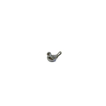 Enfeite Decorativo Pássaro Prata 7882/9