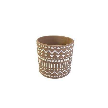 Vaso Rústico Indiano Méd LV-0160
