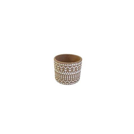 Vaso Rústico Indiano PEQ LV-0159