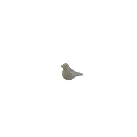 Pássaro Decorativo Branco PA-0001