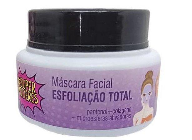 Máscara Facial Esfoliação Total Super Poderes
