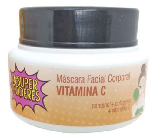 Máscara Facial Vitamina C Super Poderes