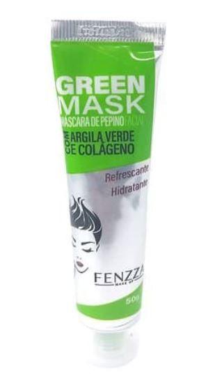 Máscara de Pepino Facial Green Mask Fenzza