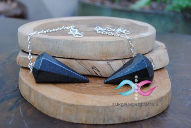 Pendulo de Obsidiana Negra