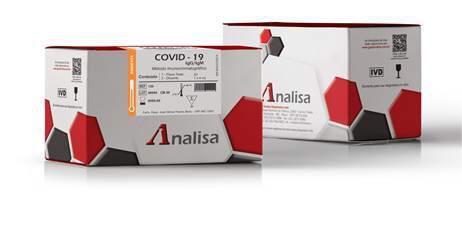 Teste COVID 19 - Caixa com 20 und