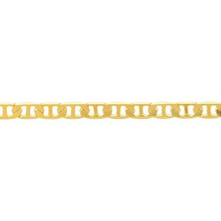Corrente elo longo Folheado A Ouro Rommanel 530614