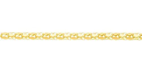 Corrente De Escamas Rommanel Folheado A Ouro 530939