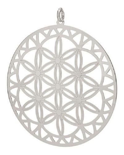 Pingente Mandala Em Rhodium Rommanel 140809