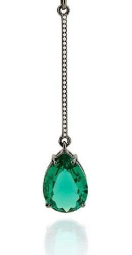 Pingente Rhodium Rommanel Com Zircônias E Cristal 440009
