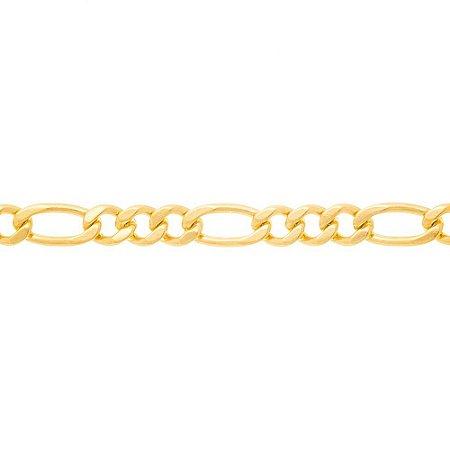 Cordão Masculino Folheado A Ouro Rommanel 530089