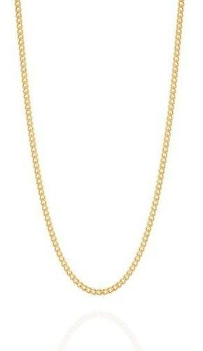 Gargantilha Folheada A Ouro Rommanel De Fio Grumet 530295