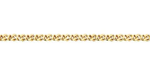 Pulseira Folheado A Ouro Rommanel Fio Grumet Dupla 550252