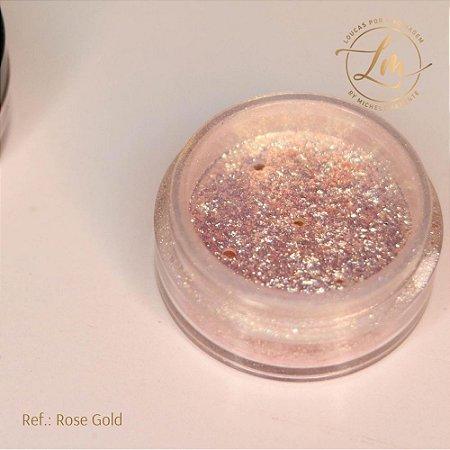 Glitter Rose Gold