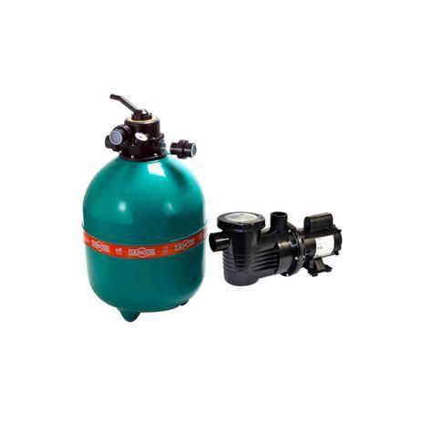 Conjunto Filtrante DANCOR DFR 22 c/ Bomba 1.0 Cv