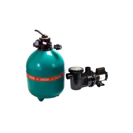 Conjunto Filtrante DANCOR DFR 24 c/ Bomba 1.1/2 Cv