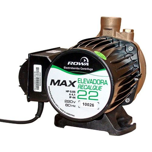 Eletrobomba Rowa Max 22 Sanitária - 100 L/m
