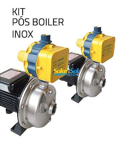 Kit 2 Pressurizador Pós Boiler Texius 3 Pontos 1/2CV 220V 80ºC