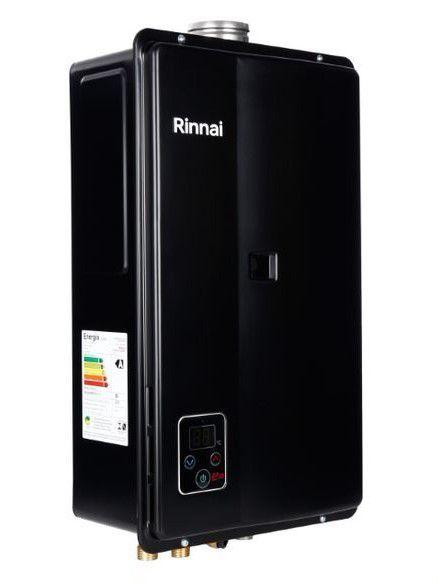 Aquecedor a Gás Rinnai REU-E33 - FEH BLACK- GN - 32,5 L/min