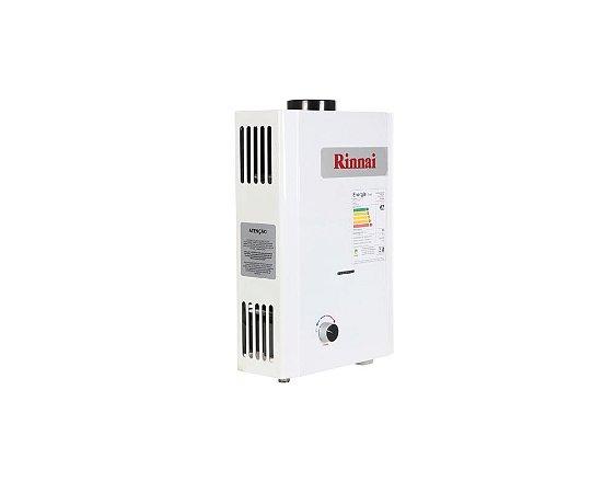 Aquecedor a Gás M07 - BP - Rinnai - GLP 7,5 l/min
