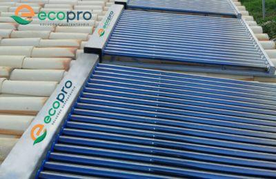 Aquecedor Solar Vácuo Modular - 25 tubos ECOPRO