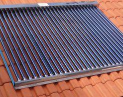 Coletor Solar a VÁCUO - 20 TUBOS INOX 316L