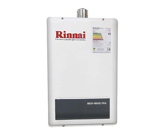 Aquecedor a Gás Rinnai REU-1602 FEA  - GLP - 22,5 L/min