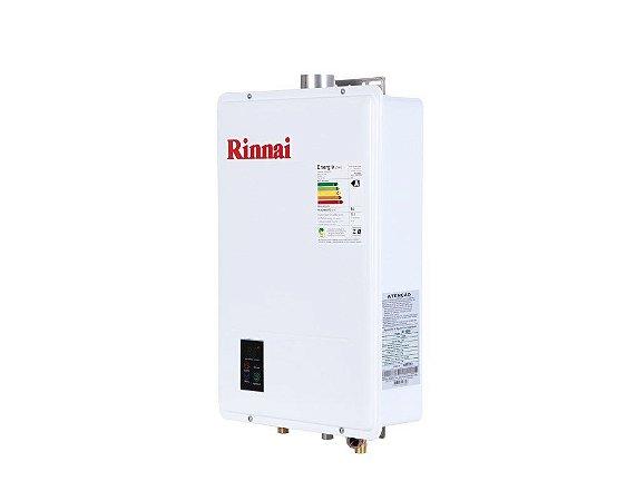 Aquecedor a Gás Rinnai REU-1602 FEH - GN - 21,5 L/min