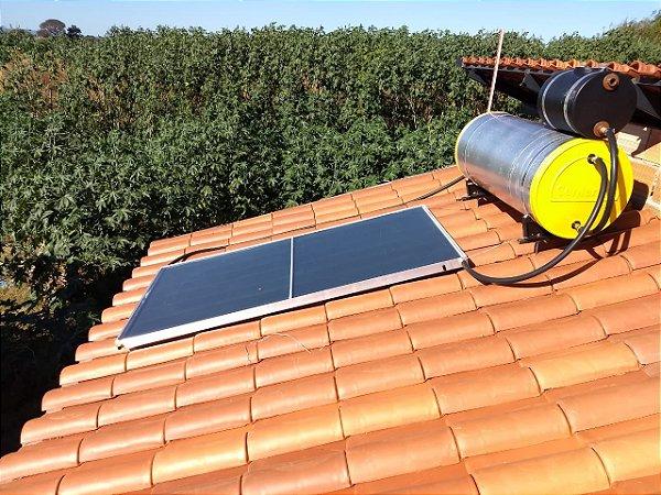 Kit Acoplado 200 L Placa e Conexões Center Sol