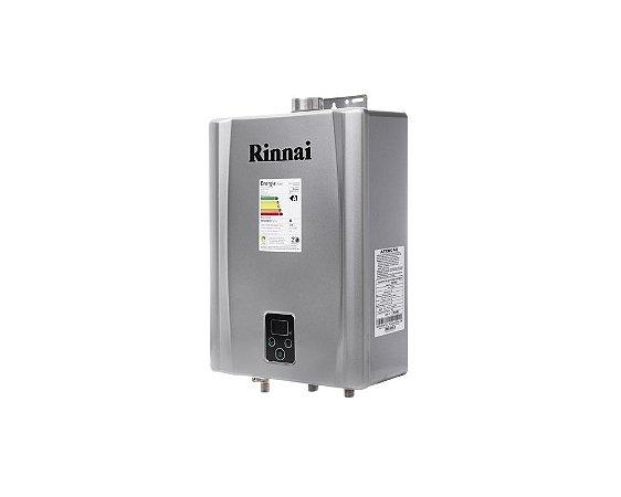 Aquecedor a Gás Rinnai REU-E170 PRATA - GLP - 17 L/min